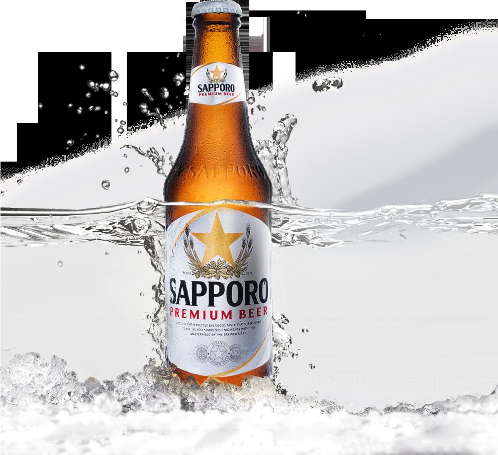 Sapporo Premium Beer chai 330 ml