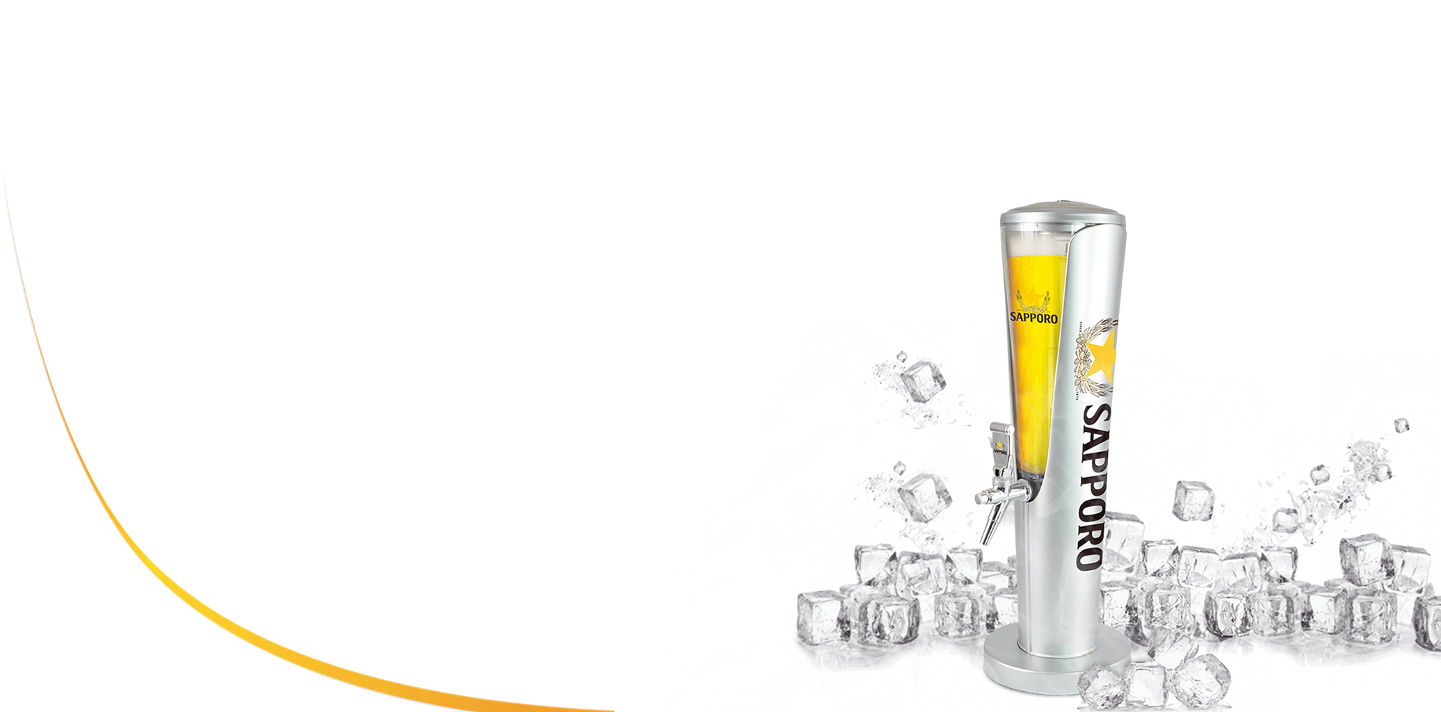 Bia tươi Sapporo Premium