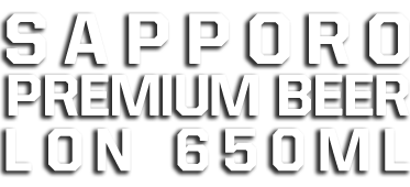 Sapporo Premium Beer lon 650 ml