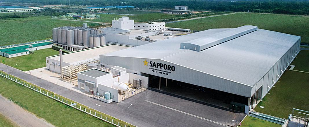 Kết quả hình ảnh cho nhà máy bia sapporo